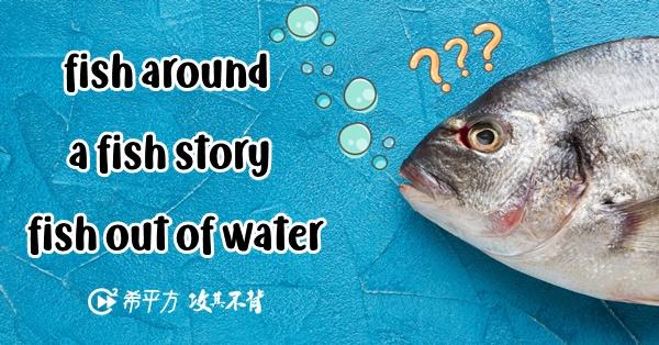 別再踏上不鮭路了!來學學跟『魚』有關的超實用片語!